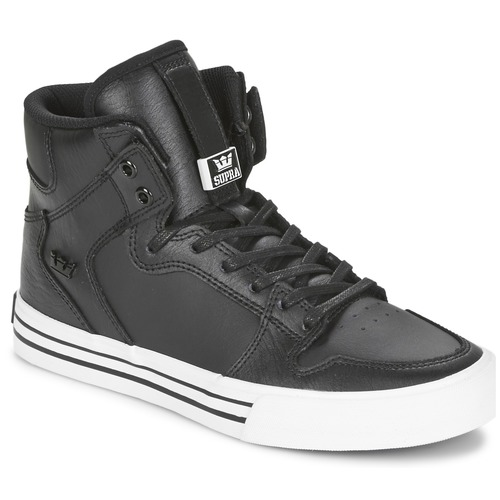 Shoes Hi top trainers Supra VAIDER CLASSIC Black / White