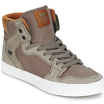 Shoes Hi top trainers Supra VAIDER Brown