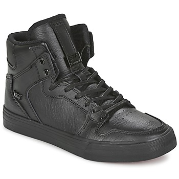 Shoes Hi top trainers Supra VAIDER CLASSIC Black