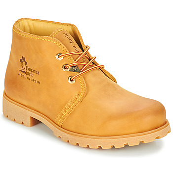 Shoes Men Mid boots Panama Jack BOTA PANAMA Wheat