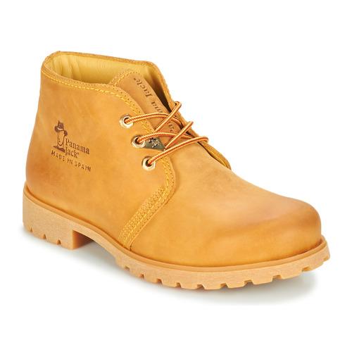 Shoes Men Mid boots Panama Jack BOTA PANAMA Beige
