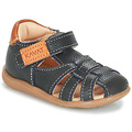 Shoes Children Sandals Kavat RULLSAND Blue / Marine