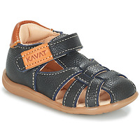 Shoes Boy Sandals Kavat RULLSAND Blue / MARINE