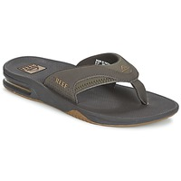 Shoes Men Flip flops Reef FANNING Brown