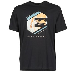 Clothing Men short-sleeved t-shirts Billabong HEXAG SS Black