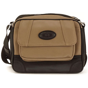 Bags Men Small shoulder bags La Martina MARTINEZ SHOULDER TAUPE Marrone