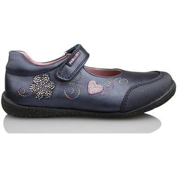 Shoes Girl Flat shoes Pablosky OPERA METAL BLUE