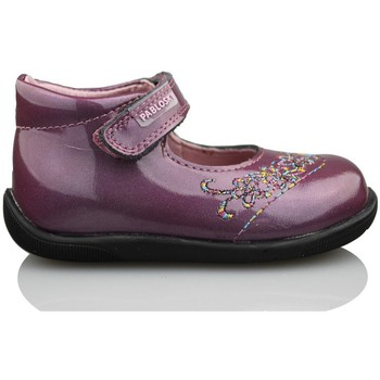 Shoes Girl Flat shoes Pablosky GANGES PURPLE