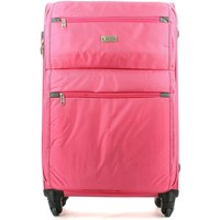 Bags Soft Suitcases Ciak Roncato 46.79.01 Trolley big 4 wheells Luggage Pink Pink