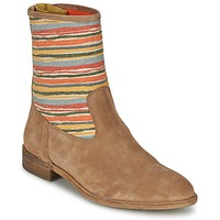 Shoes Women Mid boots Goldmud COLON TAUPE