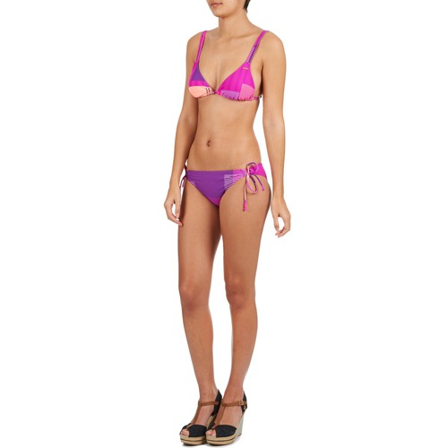 Roxy Bottom Purple Roxy Fuschia Bikini Bottom Fuschia Purple Bikini Roxy Zq7wZBgxU