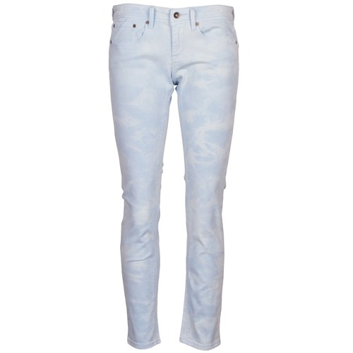 Clothing Women 5-pocket trousers Roxy SUNTRIPPERS TIE-DYE Blue