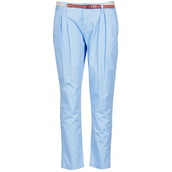 Clothing Women Chinos La City PANTBASIC Blue