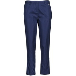 Clothing Women Cropped trousers La City PANTD2A Blue