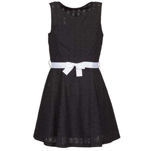 Clothing Women Short Dresses La City ROBEGUI Black