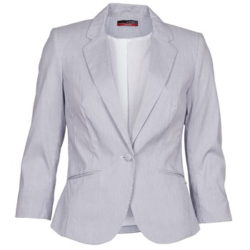 Clothing Women Jackets / Blazers La City VST1D6 Blue