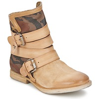 Shoes Women Mid boots Airstep / A.S.98 TROP METAL Natural