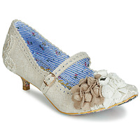 Shoes Women Heels Irregular Choice DAISY DAYZ Off White