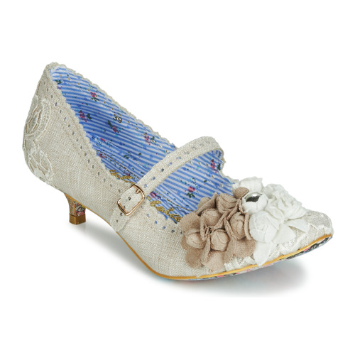 Shoes Women Heels Irregular Choice DAISY DAYZ Beige / Multicolour