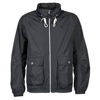 Timberland  FRANKLIN HOODED JACKET  mens Windbreakers in black