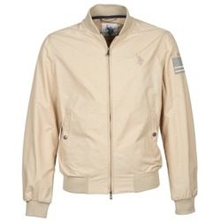 Clothing Men Jackets U.S Polo Assn. USA FLAG BOMBER Beige