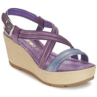 Shoes Women Sandals Samoa JEBEMA Purple / Blue