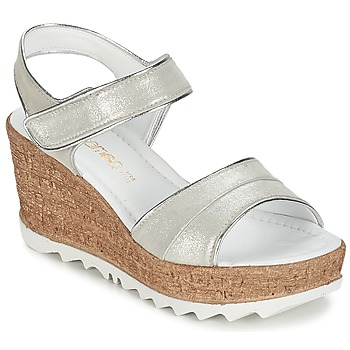 Shoes Women Sandals Samoa MOJILA Grey / White