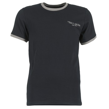 Clothing Men short-sleeved t-shirts Teddy Smith THE-TEE Black