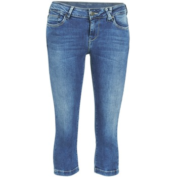 Clothing Women Cropped trousers Teddy Smith PANDOR COURT COMF USED Blue / MEDIUM