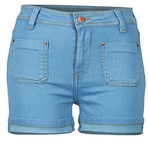 Clothing Women Shorts / Bermudas School Rag SUN Blue / Medium