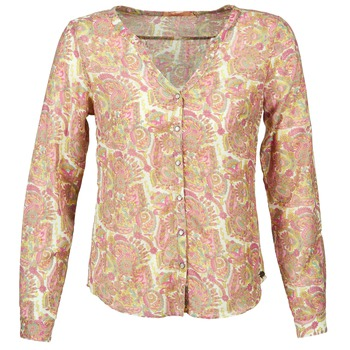 Clothing Women Shirts DDP GARDENIA Pink / Green