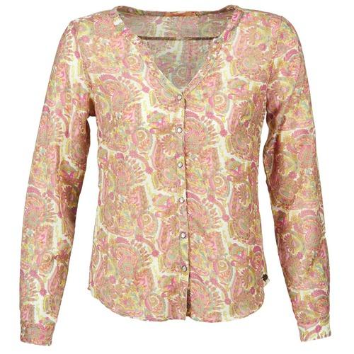 Clothing Women Shirts DDP GARDENIA Pink / Green
