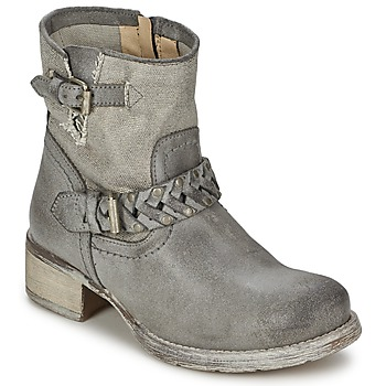 Shoes Women Mid boots Café Noir Boogry Grey