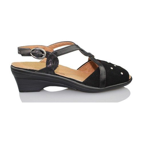 Shoes Women Sandals Calzamedi orthopedic sandal woman BLACK