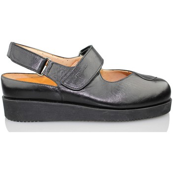 Shoes Women Clogs Calzamedi Velcro heel shoes discovered BLACK