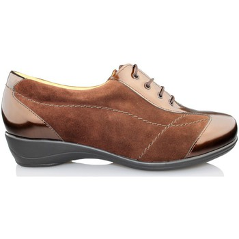 Shoes Women Derby Shoes Calzamedi orthopedic shoe woman BROWN