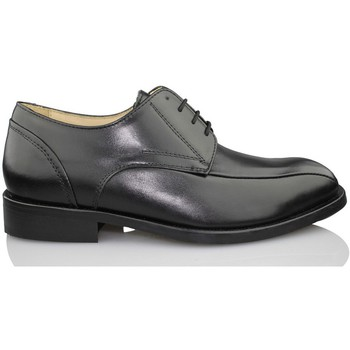 Shoes Men Derby Shoes Calzamedi comfortable dress shoe BLACK