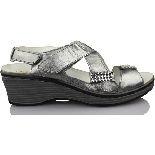 Shoes Women Sandals Calzamedi comfortable orthopedic sandal woman GREY