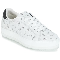 Shoes Women Low top trainers Diesel S-ANDYES  WOMAN White / Printed