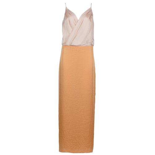 Clothing Women Long Dresses Lola RAPH Pink / Salmon