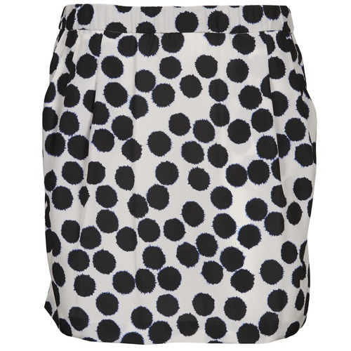 Clothing Women Skirts Lola JUNGLE Black / White