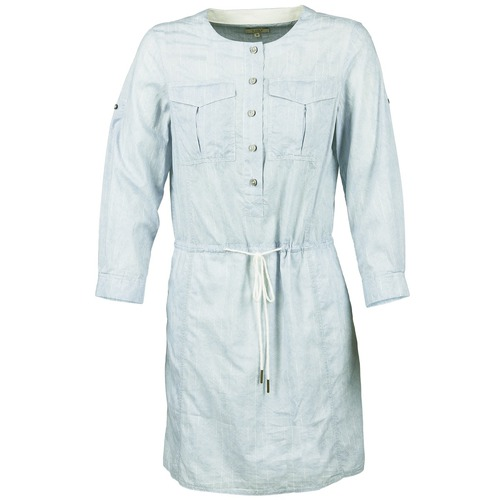Clothing Women Short Dresses Aigle MILITANY Blue