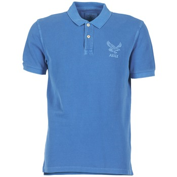 Clothing Men short-sleeved polo shirts Aigle BELAQUA Blue