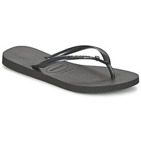 Shoes Women Flip flops Havaianas SLIM CRYSTAL GLAMOUR Black