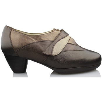 Shoes Women Heels Drucker Calzapedic comfortable shoe heel BROWN