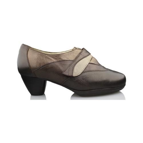 Shoes Women Heels Drucker Calzapedic comfortable shoe heel BROWN