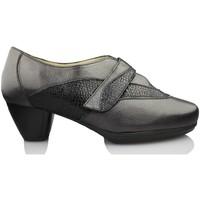 Shoes Women Heels Drucker Calzapedic comfortable shoe heel BLACK