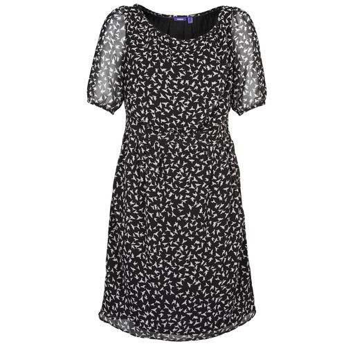 Clothing Women Short Dresses Mexx 13LW130 Black / White