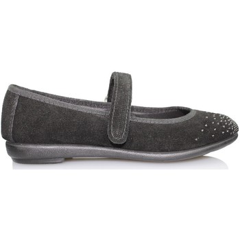 Shoes Girl Flat shoes Vulladi SERRAJE CAN BLACK