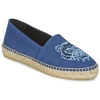 Shoes Women Espadrilles Kenzo TIGER HEAD Blue
